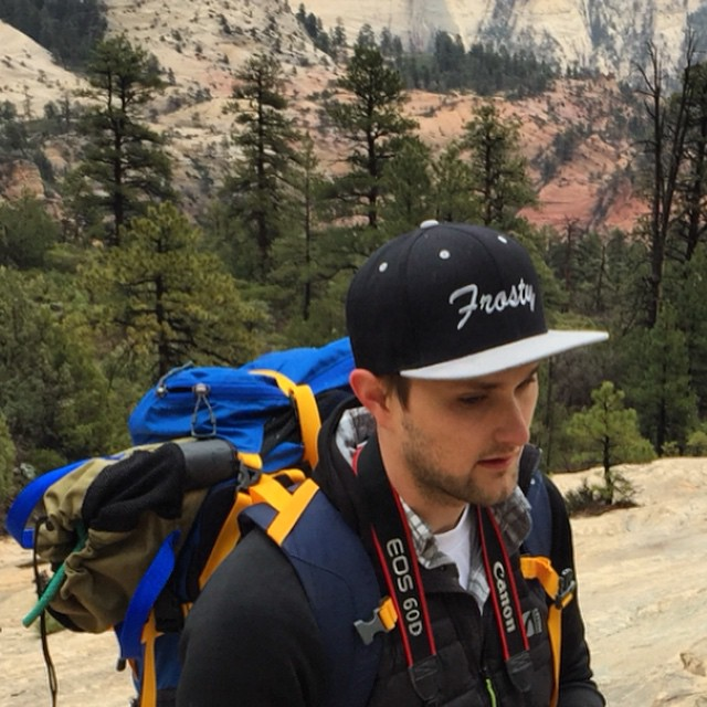 @shansen212 rocking one of the first snap backs we created out in Utah. #FrostyHeadwear #EmbraceYourOpportunity