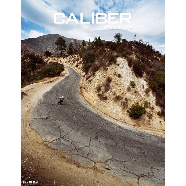@liam_lbdr_ riding through a rough sweeper in LA.  Featured in the newest edition of @skateslate