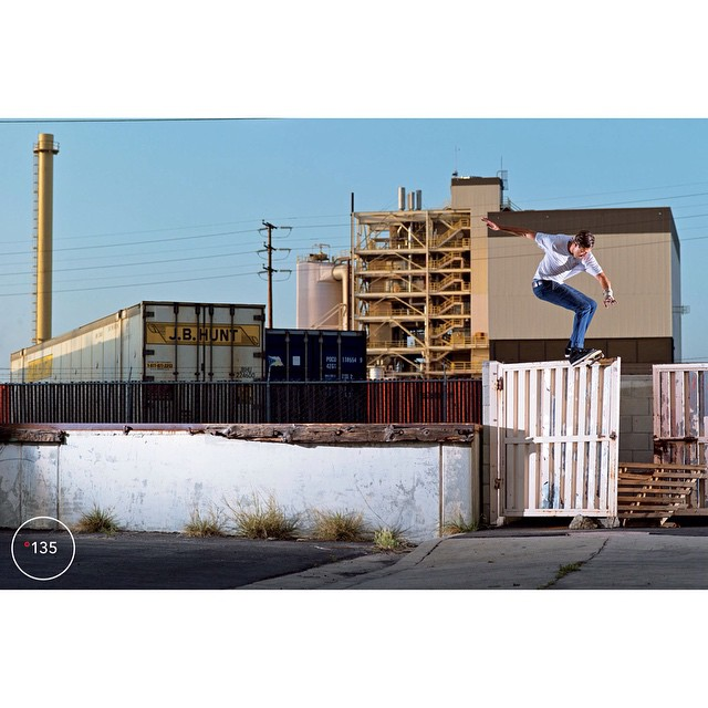 This @mikeytaylor1 hurricane is gnarly! See the footage in his new part introducing the #MikeyTaylor2 now playing on an Internet site near you! Photo: @aacostaa for @theskateboardmag issue 135. #MikeyTaylor #DCShoes