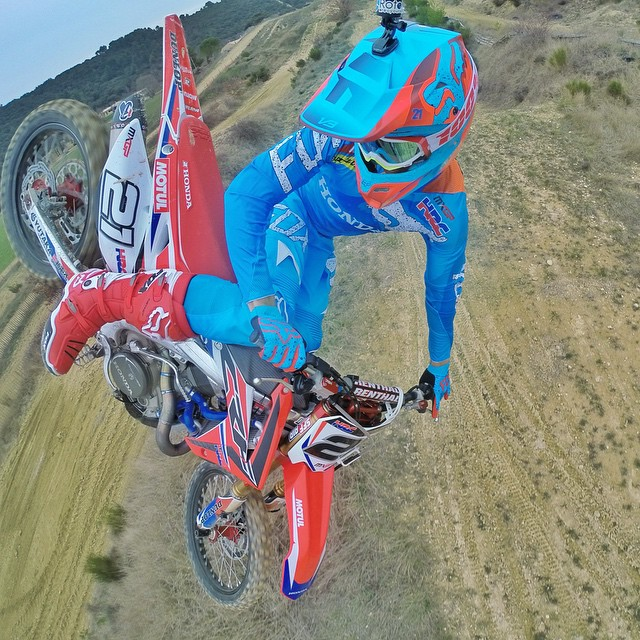 Congrats and massive Hi5 to GoPro athlete @GautierPaulin on sweeping the #MXGP of Europe this weekend. Crushin' it! #GoPro #GoProMoto