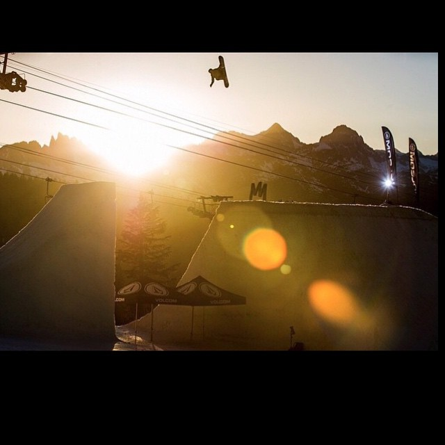 @greydinsgram has been killing it , and progressing very rapidly this season- so stoked for you Grey! Here he is @mammothmountain last week for #thelaunch2015 , where @snowboardermag invites the young guns to show their stuff. #forridersbyriders...
