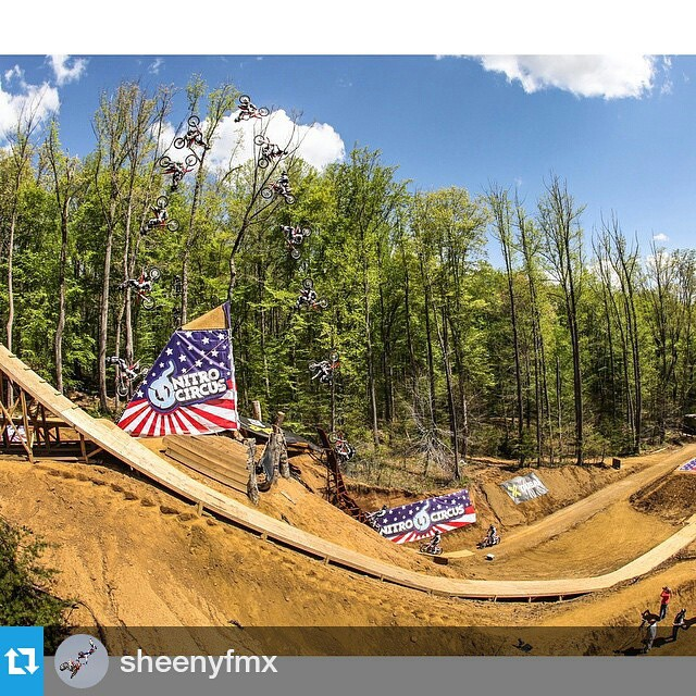 ICYMI: #XGames bronze medalist @sheenyfmx landed the first-ever dirt bike TRIPLE backflip yesterday!  Click the link on our profile page to check it out.