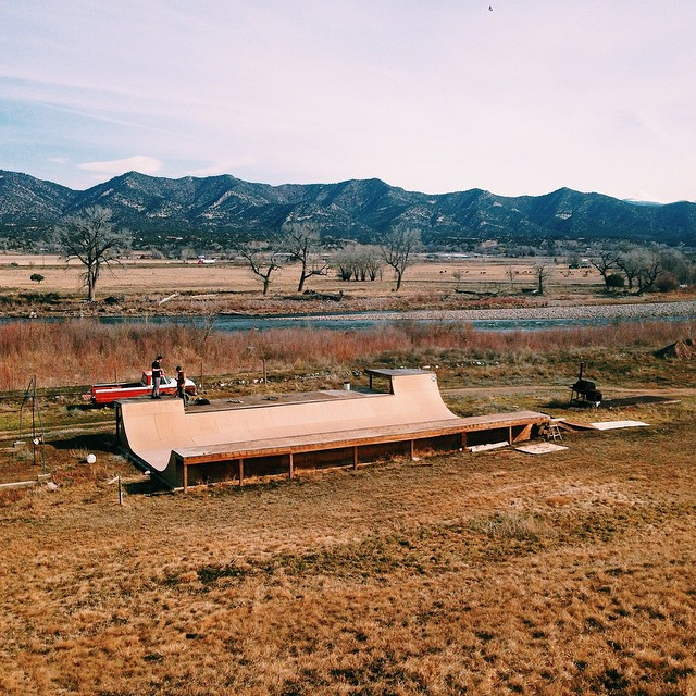 @adamjcon and friends stumble upon a magic mini ramp on their way out to CA from CO. Check out their skate adventure on our blog