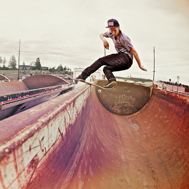 Classic shot of @nick_garcia >>> front rock >>> Photo by #ElementAdvocate #BrianGaberman