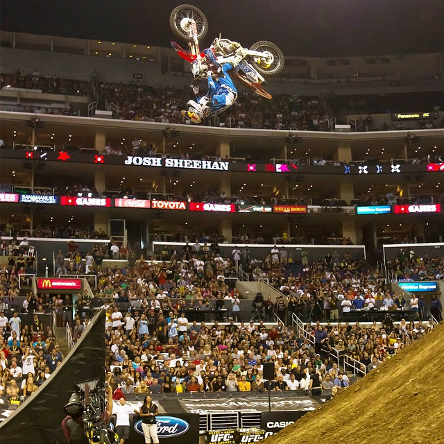 2011 bronze medalist @sheenyfmx has confirmed that he will compete in both Moto X Best Whip and Quarterpipe at #XGames Austin this June.