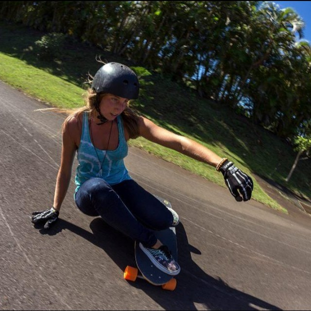 Lovely Emmanuelle Diagle @manolitamade from LGC Canada is currently in #Hawaii living life at its fullest. @mattkienzle shot