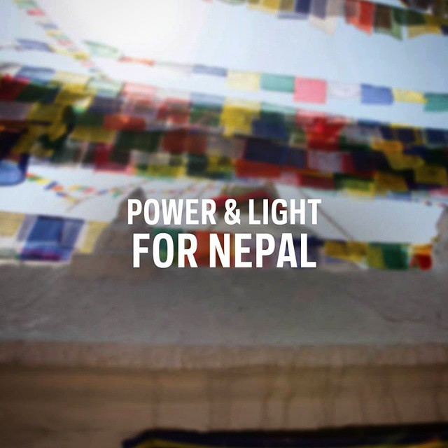 You buy one, we give one. With every Torch 250 or Lighthouse 250 purchased on goalzero.com, we will donate one to those living in the wake of the Nepal earthquake. Follow the link in our profile to get yours.