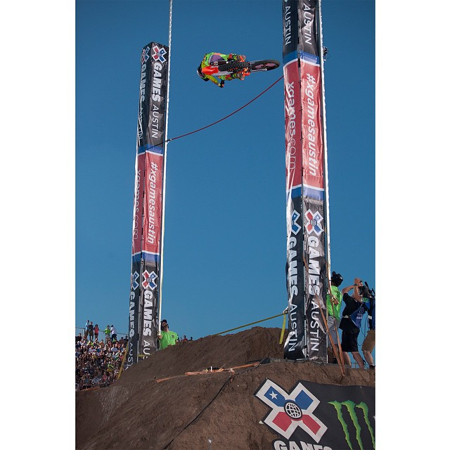 This Friday, there will be an open Moto X Step Up qualifier at the Orleans Arena in Las Vegas.  @krisfoster782, @vg214, @jarrydmcneil, @tomparsons930 and eight other athletes will vie for three invitations to #XGames Austin!