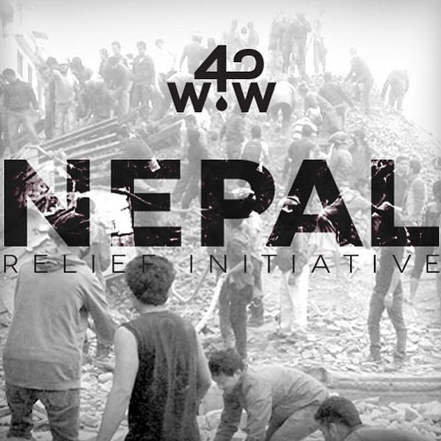 The need for clean water in #Nepal is dire and the more attention we can garner, the greater impact we can have. Consider our friends @wavesforwater for Nepalese disaster relief efforts. #KeepItClean