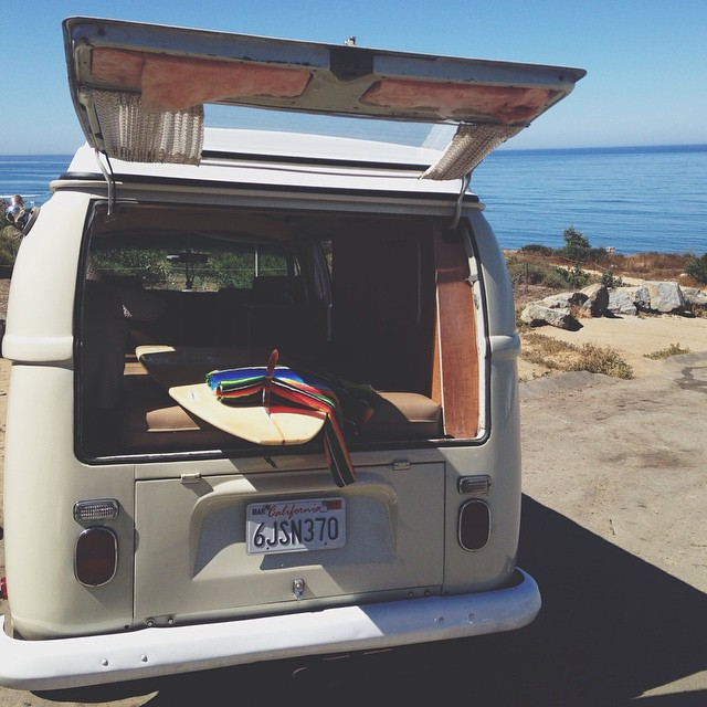 Sunshine and single fins. These are a few of our favorite things. And of course Woodstock too