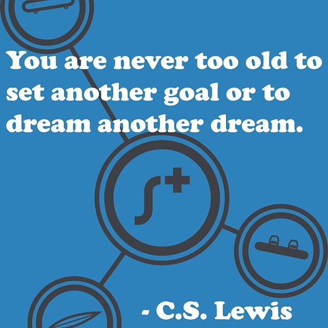 We wouldn't be where we are today if we didn't dream big and work hard. #cslewis #dreambig #stokedneverstops