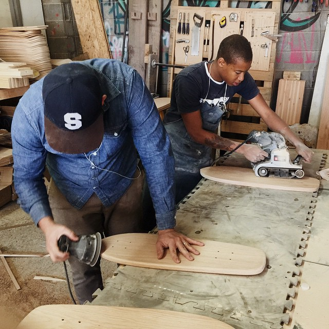 Days like these are good days. #handmade #skateboards #HandmadeSkateboards #nashville #MadeInAmerica #OakCruiser