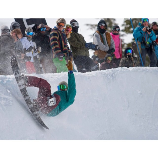 Yet another from our man Jonny Sischo (@winterislove) because he's been slaying it this year! His latest endeavor? Third place at this year's Gerry Lopez Big Wave Challenge at Mt. Bachelor...amongst a group of riders with some heavy names in it. Here...