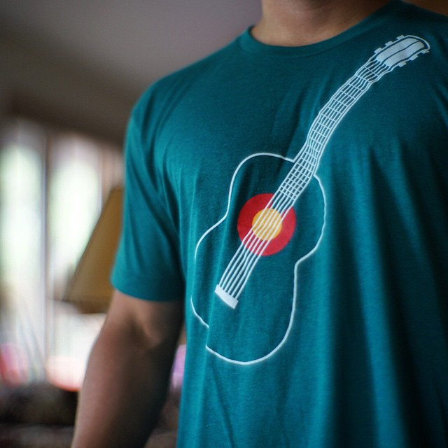 We brought back an updated version of the CO Music tees from 2010. Tag any friends that would like these! #kinddesign #colorado #music #coloradomusic #comusic #madeinUSA @coloradoconcerts @redrocksseason