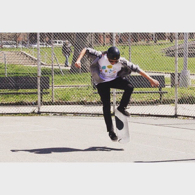kickin' it in the #Bronx! #skatementor #stoked2skate #stokedny
