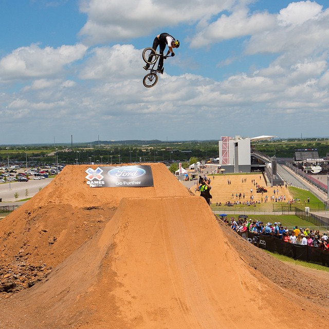 Four-time #XGames BMX Dirt medalist @chris_doyle22 turned 34 years old today. (