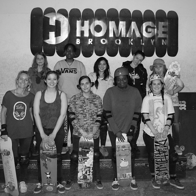 Great sesh this week @homage_brooklyn #ridetrue #groNYC