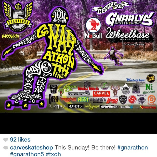 Was happy to support #gnarathon5 again this year. The #Texas crew is bigger and more organized than ever!