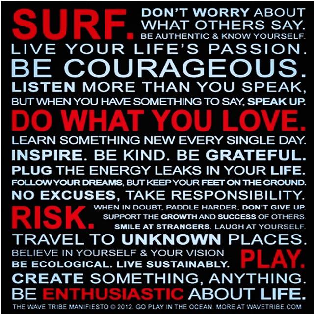#wavetribe manifesto