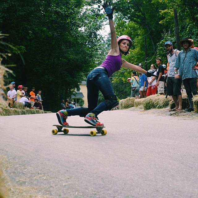 LGC USA & OPEN rider Micaela Wilson just dropped a new edit showing everyone how it's done. Killer! Jinete Secreto photo.  #longboardgirlscrew #womensupportingwomen #girlswhoshred #micaelawilson