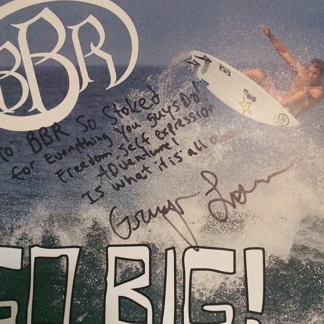 Get your Granger poster at your local Surfshop. #bbr #buccaneerboardriders #grangerlarsen #teamrider #poster #surfshop
