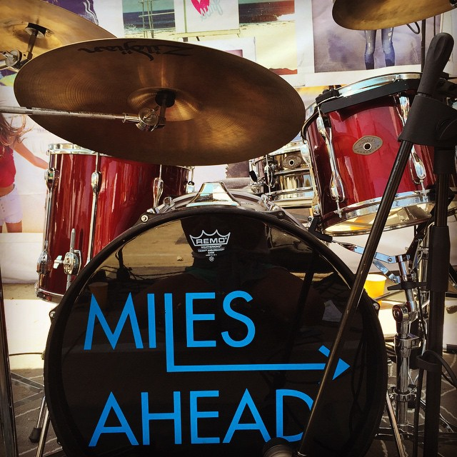 @milesaheadband at Spring Fling! #livemusic #shoplocal #festivities #fun