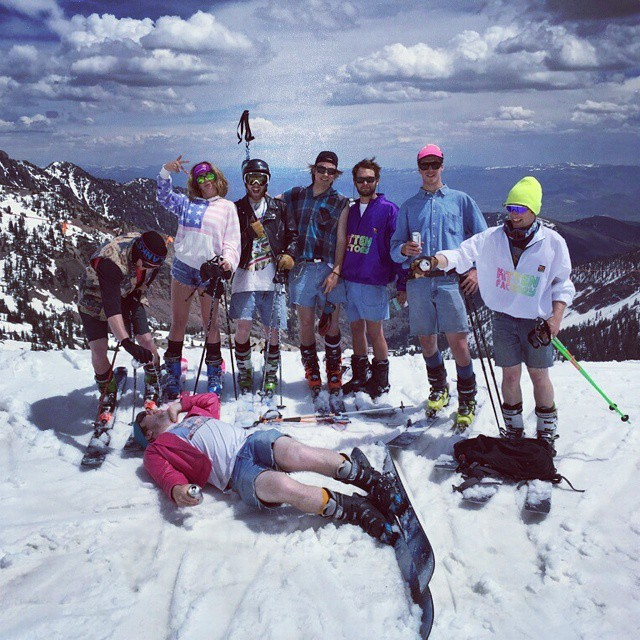 Successful jortski at snowbird today!! Even though @snowbird is a bunch of commis and closed at 1:30 without alerting anyone.  Jortski round two tomorrow!!! #kittenfactory