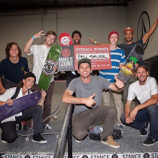 Congrats to #elementmakeitcount at @activerideshop winner Ben Sauer (@_bensauer) whose headed to the finals! Big props also to 2-5th place Corey Millet (@themostelkdude), Justin Drysen (@justin__drysen), Ronnie Kessner (@ronniekessner) and Josh Briggs...