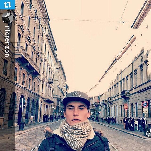 Nuestro amigo @nlorenzon representing en Italia ・・・