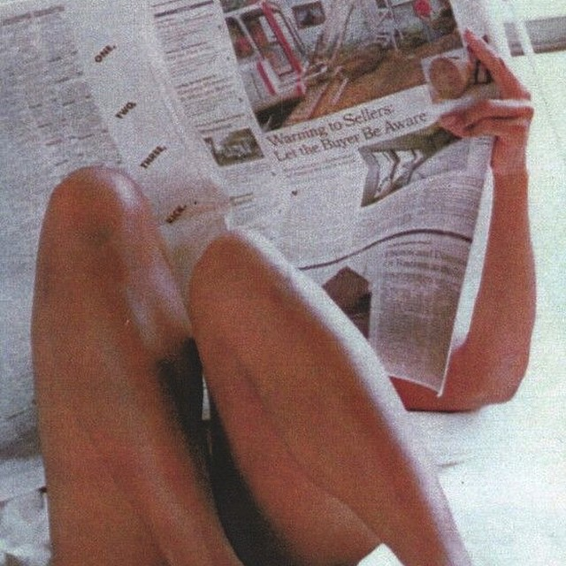 Sunday rituals: newspaper. Craving some #analog information delivery today. Nothing like good old iconic newsprint. Even the sound of opening and folding it has a specific familiarity no device can duplicate. #slowyourselfdown #AllSwell