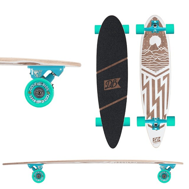 "Checkout the new Cascade 38"" complete cruiser and customize it anyway you want.  #cascade #cruiser #dblongboards #customlongboard #longboard #longboarding #goskate #skateeveryday"