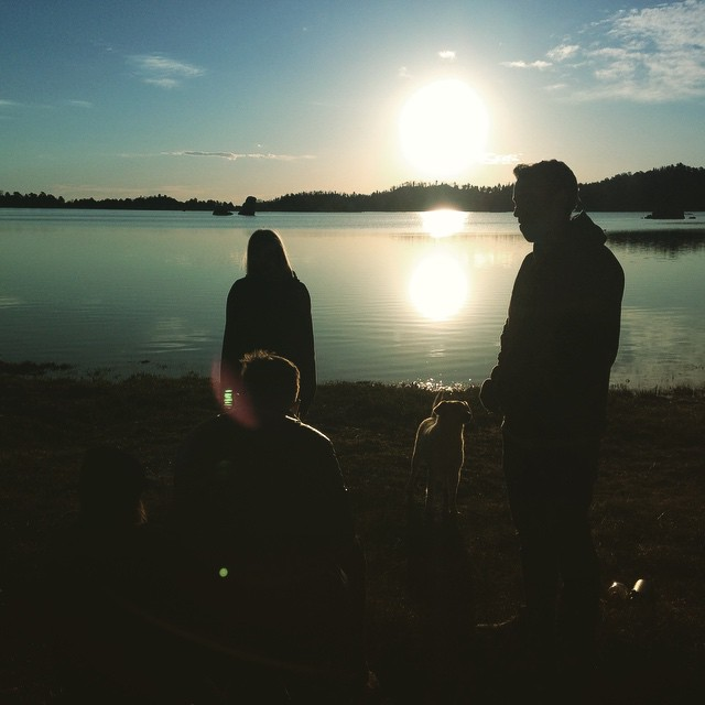 Had a great weekend camping, watching the sun rise, and climbing around on rocks with some really good friends.