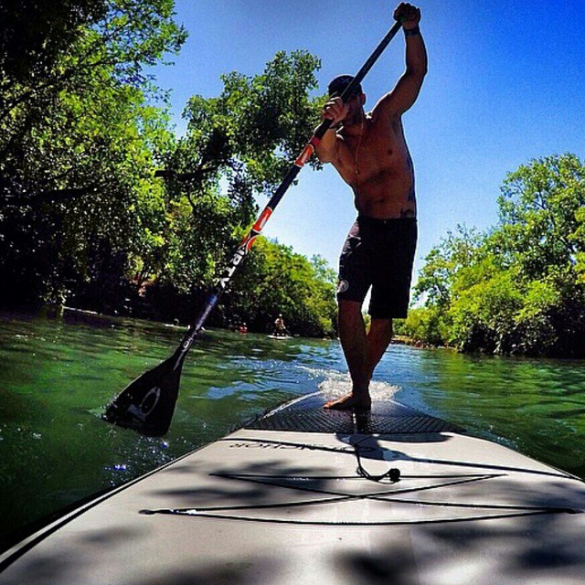 #sup kind of weekend. #revbalance #findyourbalance #balanceboards #madeinusa #paddleboarding #balanceskills #balance #nature #onthewater #floatingonthewater