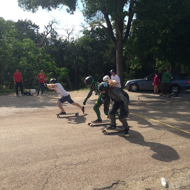 all #waterloowheels semi final in Waco texas at #gnarathon5 zack  hopper, Jarg, and Ray Adams.