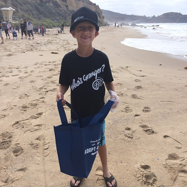 Benjamin is proud to spend the morning doing beach clean up. He always spends time doing clean up after every surf session. Keep our beaches clean. #bbr #buccaneerboardriders #benjaminstone #beachcleanup #keepourbeachesclean