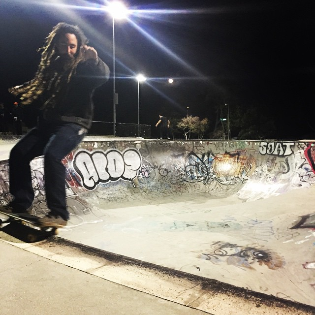 Sunday night Potrero session with Team rider Adrian Da Kine--@adrian_da_kine!  #adriandakine #dakineskateboard #bonzing #potreroskatepark #sanfrancisco