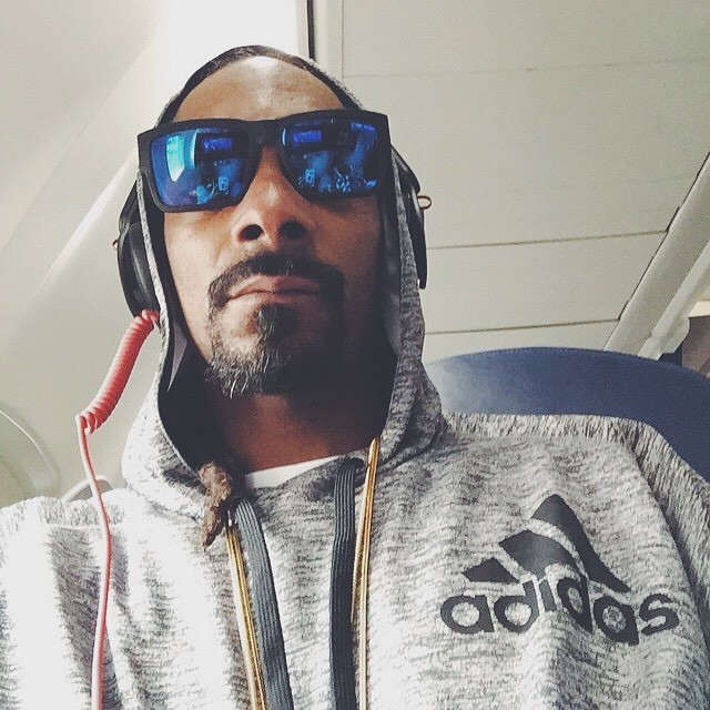 @snoopdog gets high as a kite on sunlight in the Cyrus with #HappyLens.  #SEEHAPPY like Snoop through the link in our profile!
