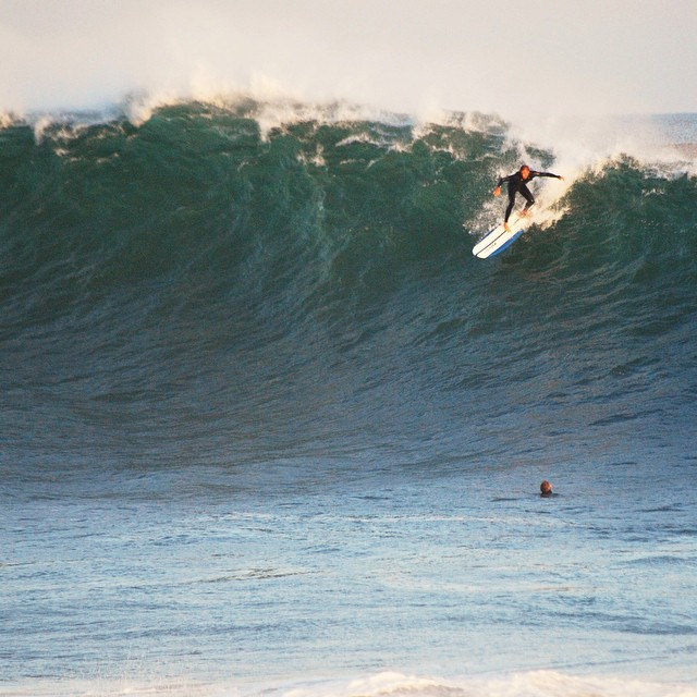 Matuse family members @reedshooty and @austinsonnier taking on The Wedge last night. #lovematuse #ckth