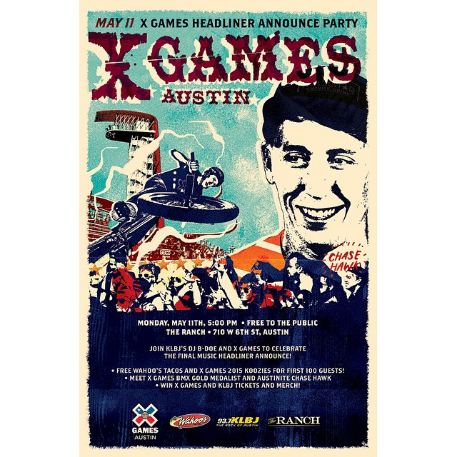 On May 11, we're going to announce our final #XGames Austin headliner!  Join the celebration at The Ranch on West 6th.