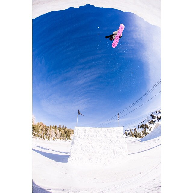 Friend of #coalheadwear @mel902  went sky high with the ladies of #amusementpark15 at @mammothmountain.