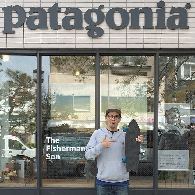 Awesome to see one of our boards on the ground in Japan with the @patagonia Japan team! Thanks for sharing @pilgrimsurfsupply !!