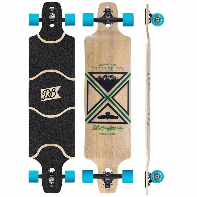 "Introducing the Freeride DTX 41"". This board is an upgraded version of the ever-popular Freeride DT, the DTX takes the best elements of the original and goes one step further. Still sporting its signature double drop design and comfortable foot pockets..."