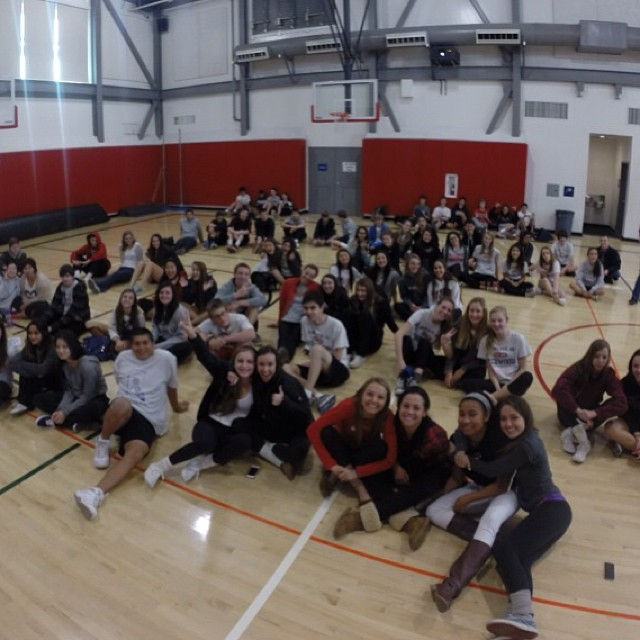 Presenting to Redwood HS sophomores this morning, it's like instant black coffee | shot on @gopro #goproapp #hero3plus