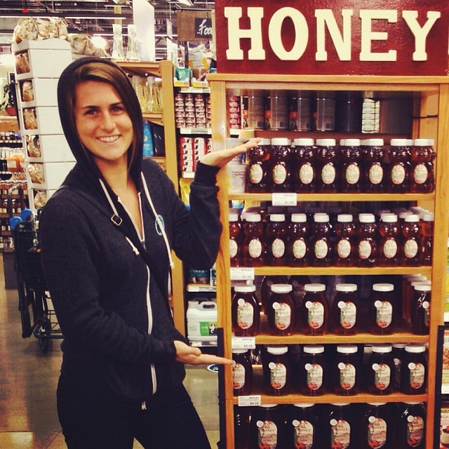 Chloe Vetterli sending some #localhoney #love our way! #localhoneydesigns #localhoney #chloevetterli #longboarder #santacruz #california #love