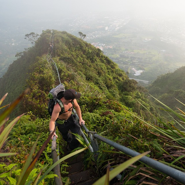 As it turns out, heaven does exist - We even found a stairway to take us there! Just make sure to get yourself a good solid pair of sneakers; there are 3,900 steps from bottom to top... #adventureworthy #getoutthere