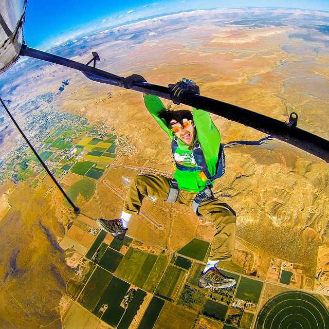 Photo of the Day! Hanging out somewhere over Utah with Charlie Saidel. #GoPro #skydiving #helicopter Share your skydiving photos with us! Click the link in our profile to submit.