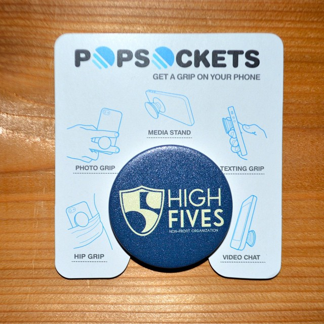 Get your #HighFivesFoundation @popsockets on our online store! #GetAGrip #PopSockets