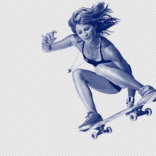 #WCW @lynzskate big RESPECT to this pro skateboarder and snowboarder! Also married to @travispastrana #revbalance #findyourbalance #femaleriders #skateboarding #girlscanride #rideeveryday #skills