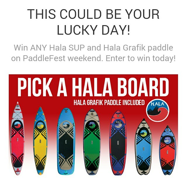 Check out this great chance to win a brand new Hala Gear board and paddle from Hala Gear and @cksonline !! Sign up at: http://woobox.com/7x3cej