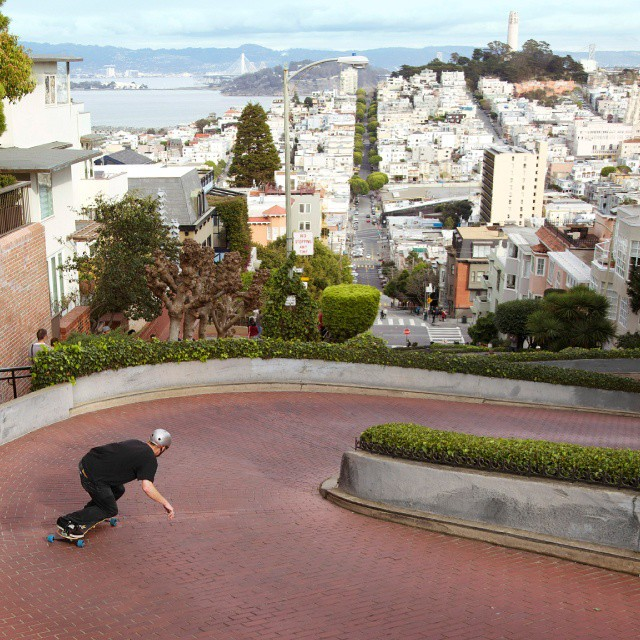 Mike Hoppe caressing Lombard's voluptuous curves #Freebord #Snowboard All Year